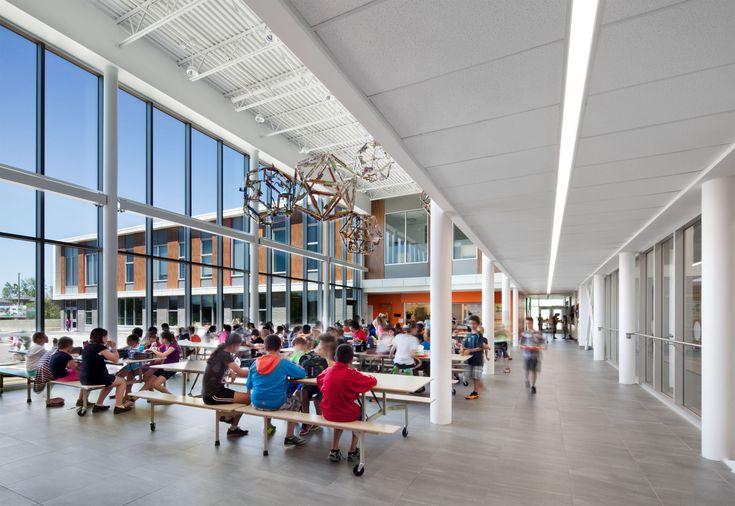 École primaire de l'Espace-Couleurs / Photo: Stéphane Brügger