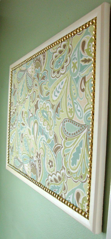 M s de 20 ideas incre bles sobre panel de corcho de tela - Tela de corcho ...