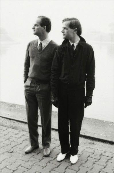 Florian Schneider and Ralf Hutter