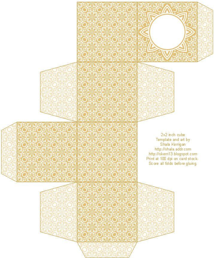 Lace Pattern, Free Box Templates to print for gift boxes, wedding favours, kids crafts and gift wrap ideas, printable, box , pattern,template, container,wrap, parent crafts, decor, design,paper crafts, cool teen crafts