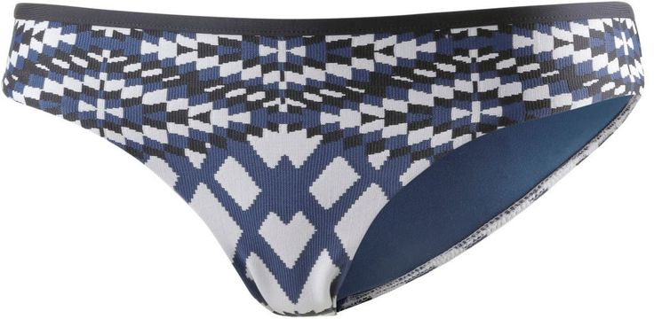 #Seafolly #Modern #Tribe #Bikini #Hosen #Damen #blau/grau/weiß