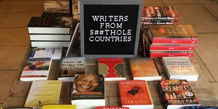 New York bookstore displays books by authors from 'shithole countries' - Business Insider