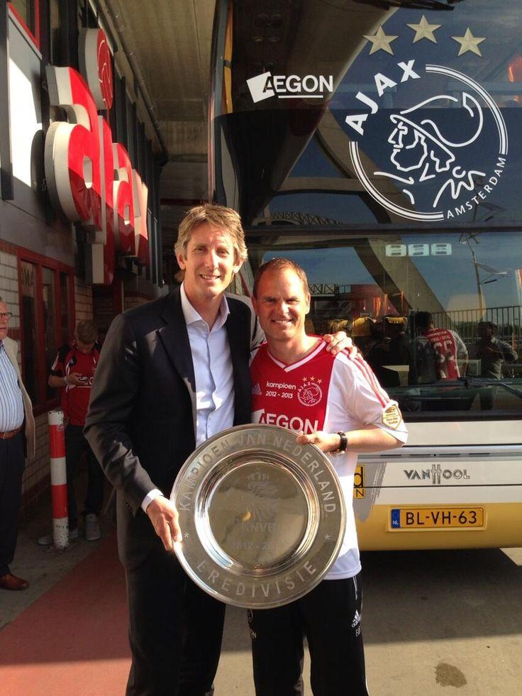 Ajax wint 33e landskampioenschap. Frank gefeliciteerd!