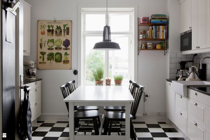 Kuchnia - Styl Skandynawski - Casa Bianca