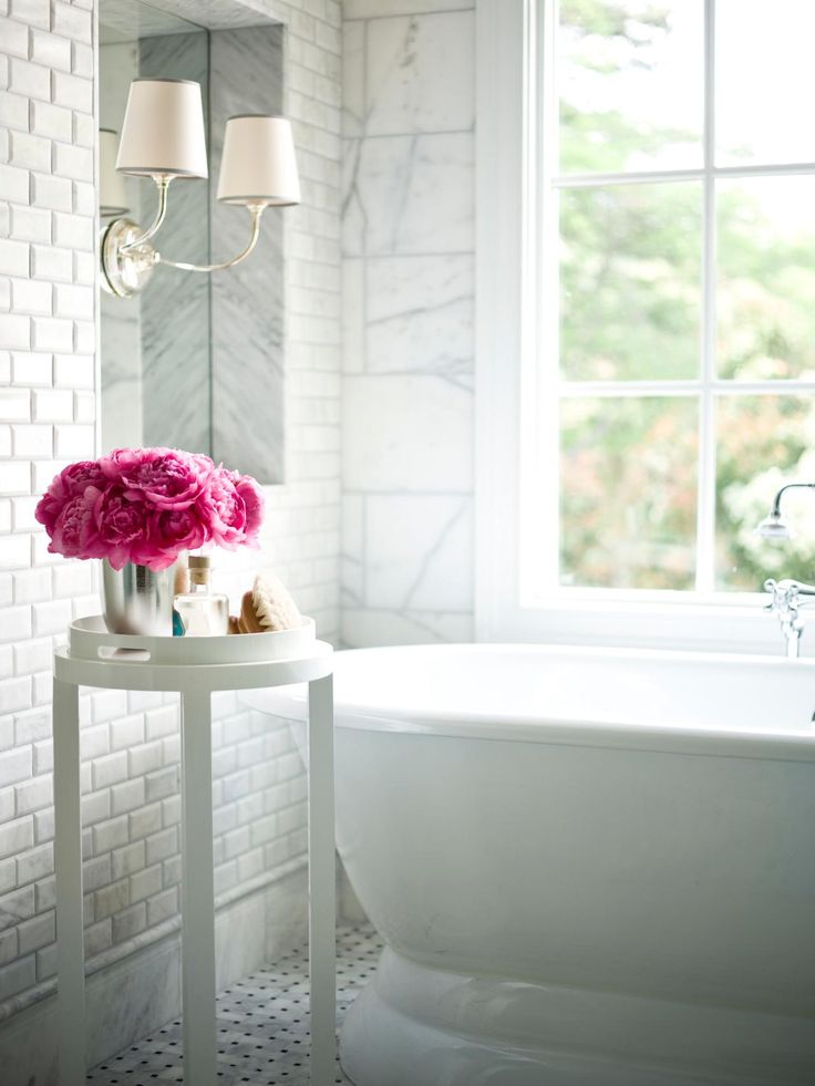 74 Bathroom Decorating Ideas Designs Decor: 203 Best Images About White Bathrooms On Pinterest