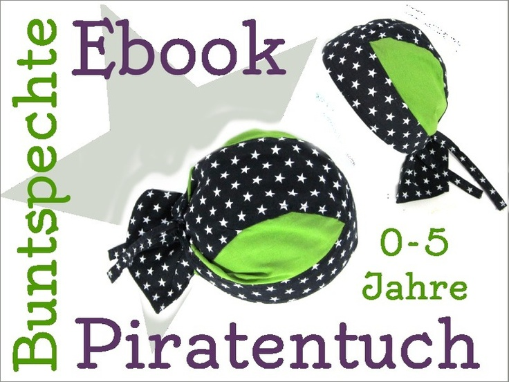 Sommersachen selbermachen: Bandana cooles Piratentuch nach diesem Schnittmuster inkl. Anleitung #DIY, #nähen, #ebook