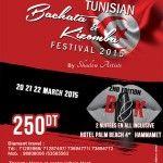 Le Tunisian Bachata & Kizomba Festivalby Shadow Artistsrevient cette année pour sa 2eme édition à l'hôtel Palm Beach Hammamet. Se basantprincipalement sur deux disciplines : la bachata et la kizomba,mélange des danses latines et africaines, le festival s'étend sur 3jours de cours 'workshops' assurés par 4 couples d'instructeursinternationaux et d'un couple de danseurs Tunisiens de [...]
