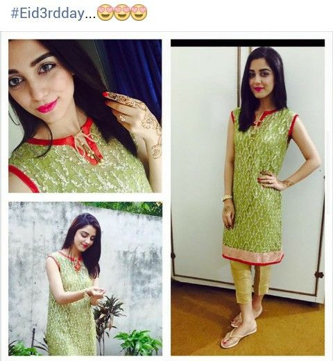 Maya ali on eid 3rd day
