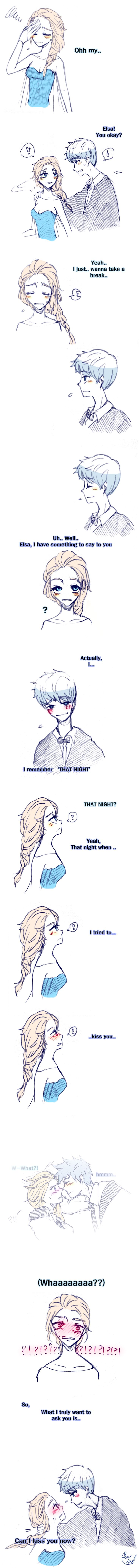 Rise of the Guardians' Jack Frost and Frozen's Elsa | J.K. Rowling's Harry Potter / [Triwizard] Ball-Jelsa (2) by Lime-Hael on DeviantArt