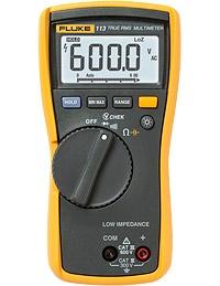 Fluke 113. Multímetro digital de verdadero valor eficaz diseñado para realizar comprobaciones eléctricas básicas