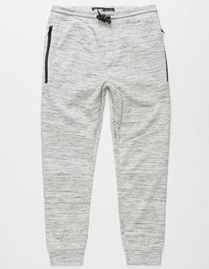 BROOKLYN CLOTH Space Dye Boys Jogger Pants Grey