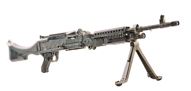 M240 Machine Gun   M240 machine gun - Gory Storm