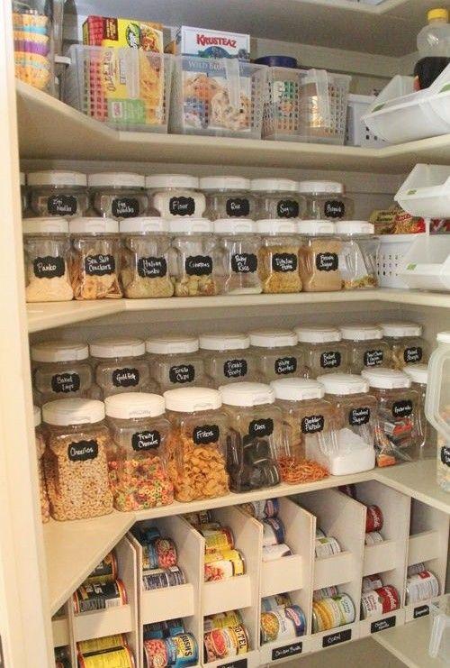 Систематизируем хранение на кухне