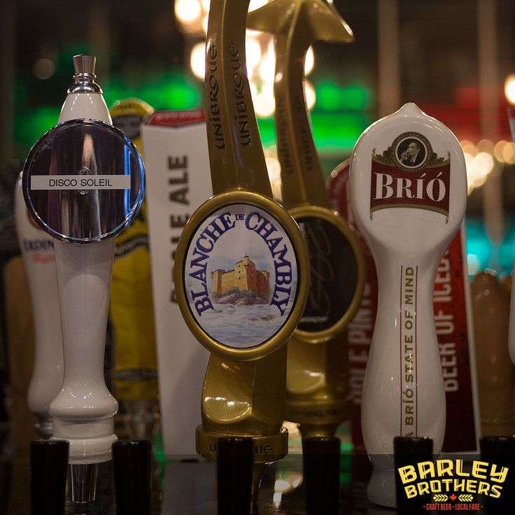 Barley Brothers serves up the best craft beer in Winnipeg. The restaurant, gastro pub and bar has 2 locations; Polo Park & Stadium. Watch sports, grab a beer or enjoy great local fare.