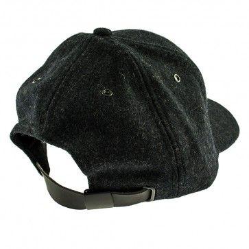 APOCS - Low Wool Baseball Cap - Black