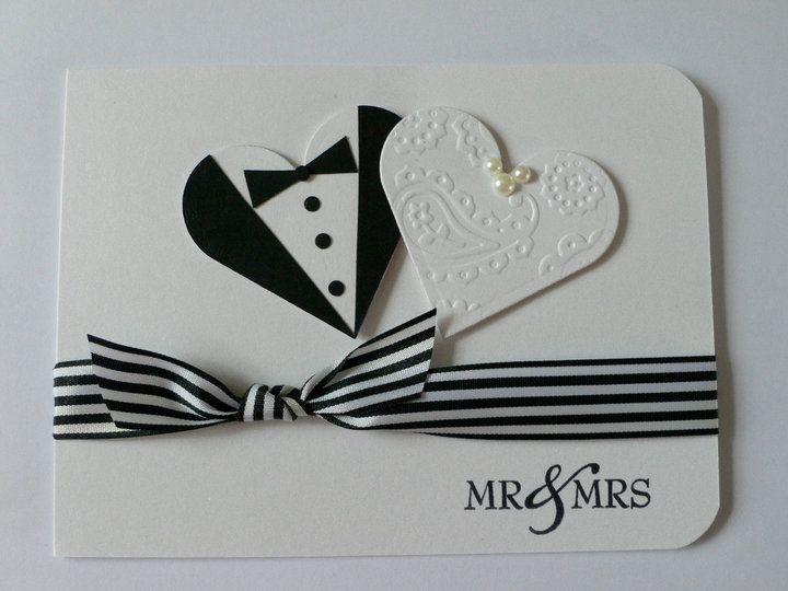 homemade wedding cards | wedding card