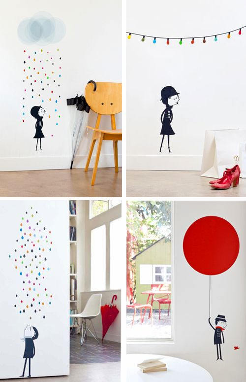 Co-bloggerIris does not really like wall decals for kids. But I am sure she will change her mind, when she shesees these stylish sticke...