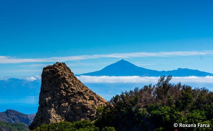 In departare: Teide, vulcanul de pe Tenerife Teide, the volnaco on Tenerife seen from La Gomera island