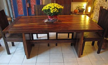 50 best reclaimed teak furniture images on pinterest for Dining room tables 36 x 72