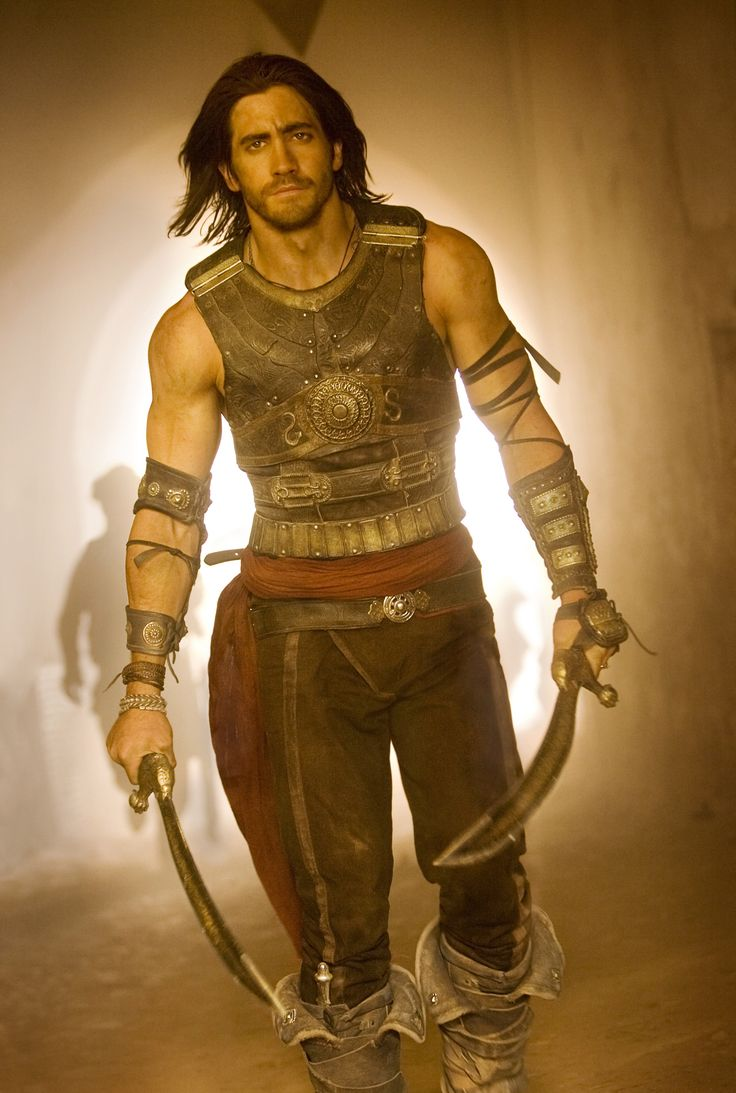 "Jake Gyllenhaal is Dastan of ""Prince of Persia - The sands of time"" @Wil Brooks"