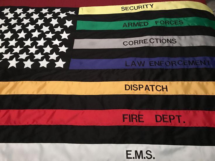 First Responders Flag Suzie Q Designz Etsy My