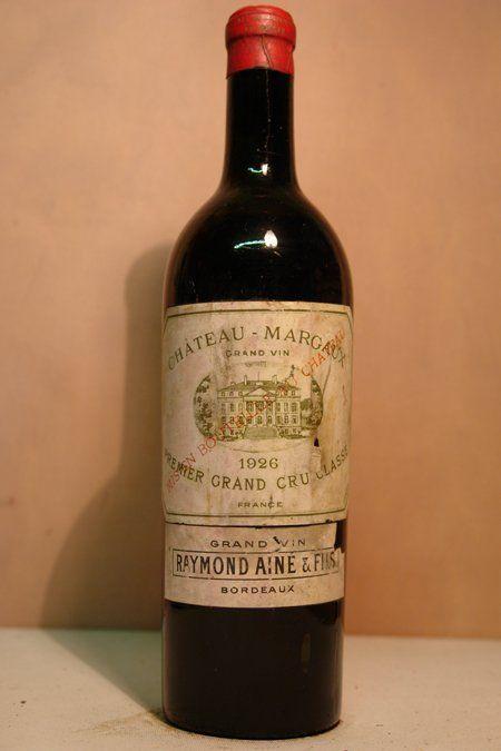 Chateau margaux ch teau margaux 1926 39 ex nicolas for Chateau margaux