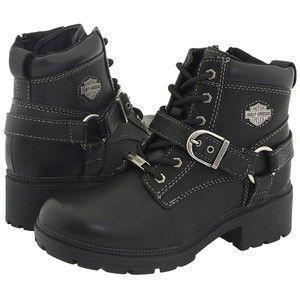 Women's Harley Davidson Tegan Motorcycle Boots <3