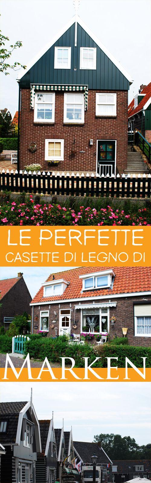 Se siete dei perfezionisti, non perdetevi Marken, delizioso paesino olandese dalla precisione inquietante.
