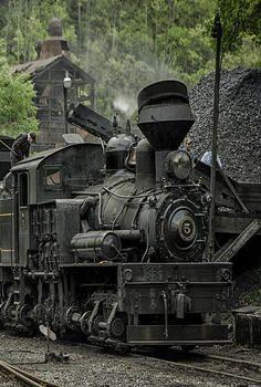 Train Loading Coal