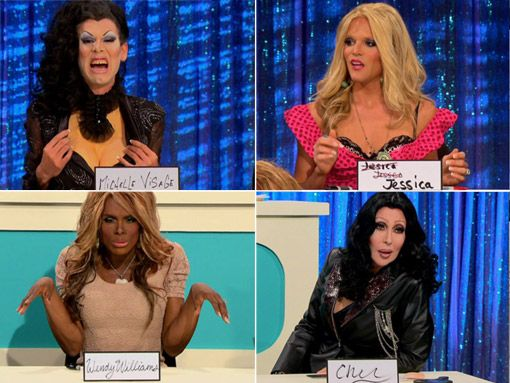 ♥Chad Micheals Sharon Needles Willam Belli Dida Ritz♥ Rupaul Drag Race Cher