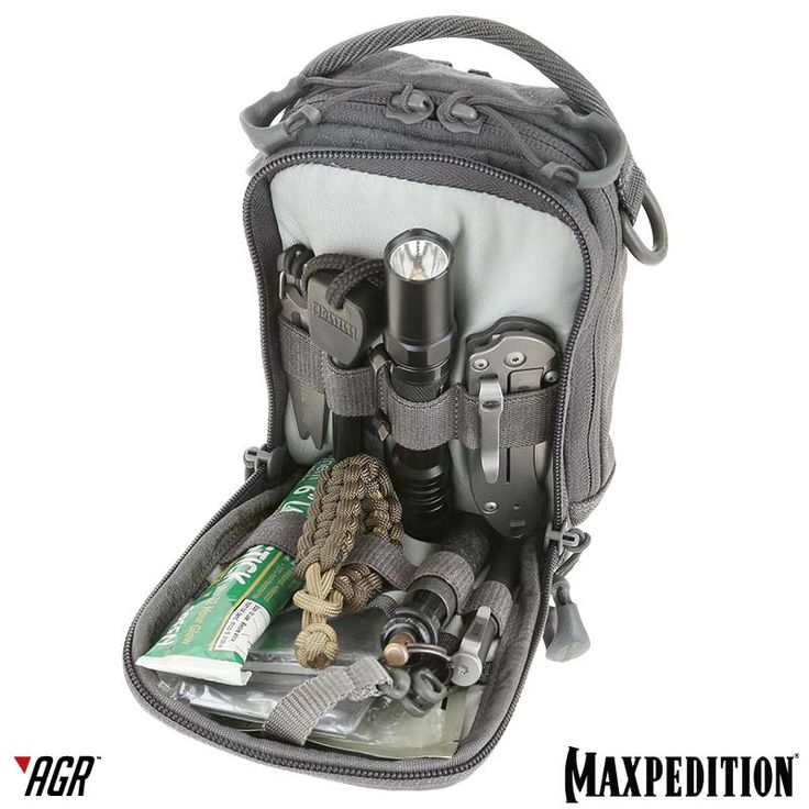 The CAP™ Compact Admin Pouch from the Advanced Gear Research line is a low-profile pouch that expands to fit items including outdoor survival tools. www.Maxpedition.com