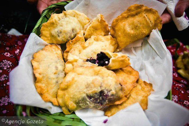 Local speciality - Pierogi Wigierskie - just to be tasted in Wigry...