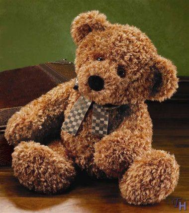 Russ Berrie Tatum Plush Teddy Bear