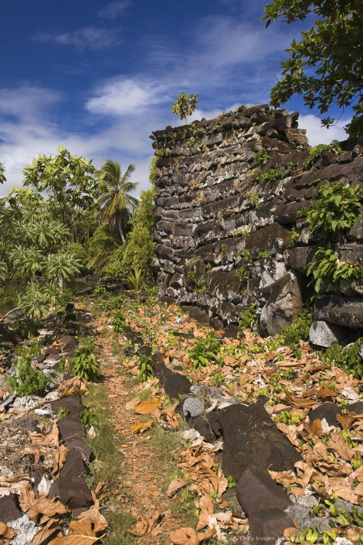Historic ruins of Nan Madol, Pohnpei, Federated States of Micronesia