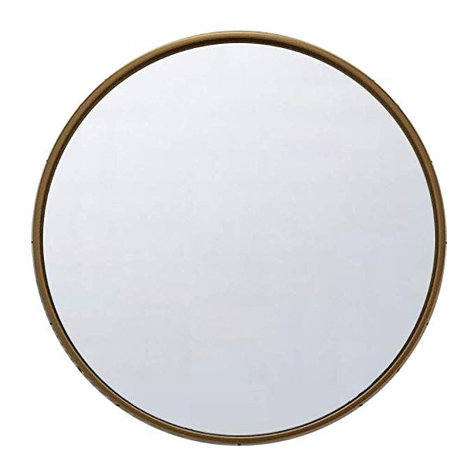Amazon Com Vanity Mirror Bathroom Metal Frame Round Wall Mirror 30cm 12inch Makeup Shave Shower Decorative Mirror Mirror Decor Round Wall Mirror Mirror Wall