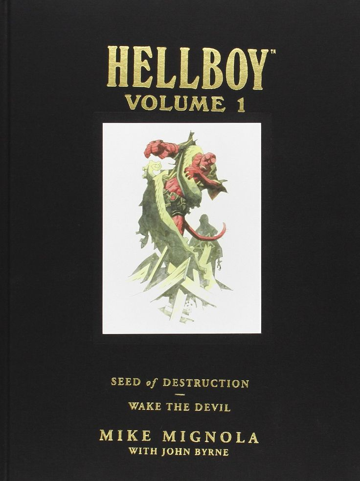 Hellboy Library Edition Vol. 1 by Mike Mignola and Various (DarkHorse Comics)