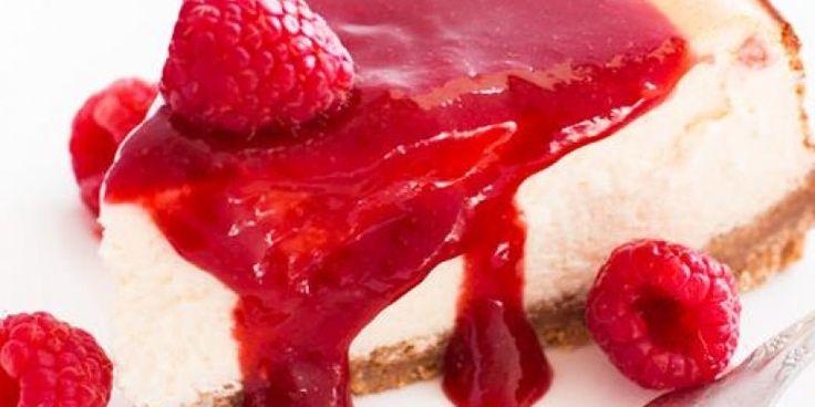 Cheesecake με ελληνικό γιαούρτι