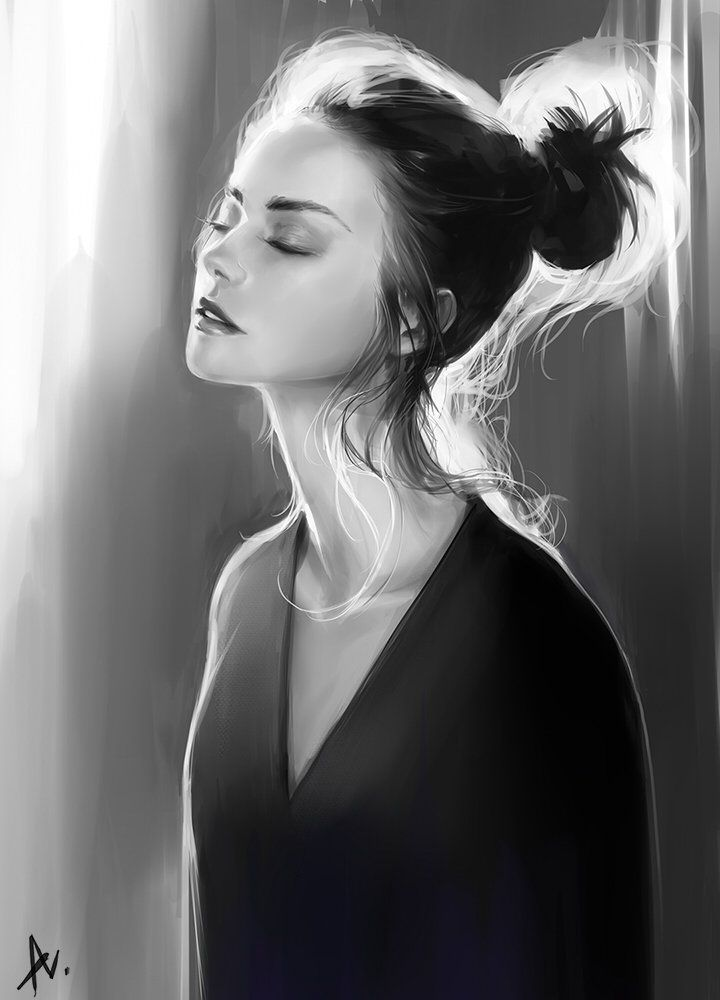 Girl Studio2, Avet Ino on ArtStation at https://artstation.com/artwork/sorcer-tera