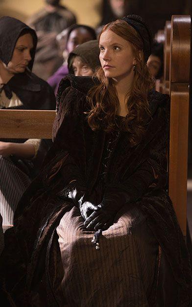 Tamzin Merchant as Anne Hale - Salem Cast & Crew