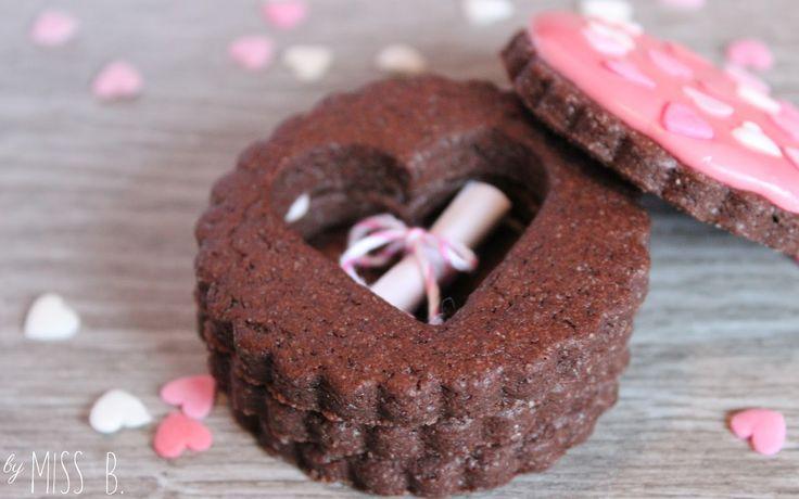 Miss Blueberrymuffin's kitchen: Süße Valentinstags-Piñatas-Cookies