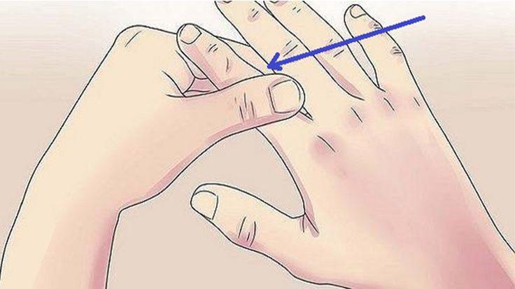 Masează-ţi degetul arătător timp de 60 de secunde și vei vedea ce se întâmplă cu corpul tău!