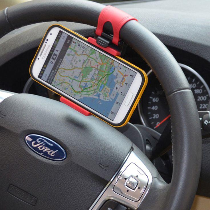 OTOKIT Автомобильный Держатель Телефона Руль Автомобильный Держатель клип Пряжки Разъем для iPhone Samsung Мобильный Телефон GPS Под 5.6''