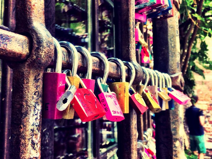 Locks of Lovers, Verona. Casa Di Giulietta.
