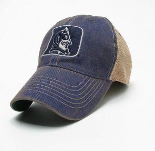 4364b5dee6101 Duke Blue Devils Legacy Old Favorite Trucker Hat