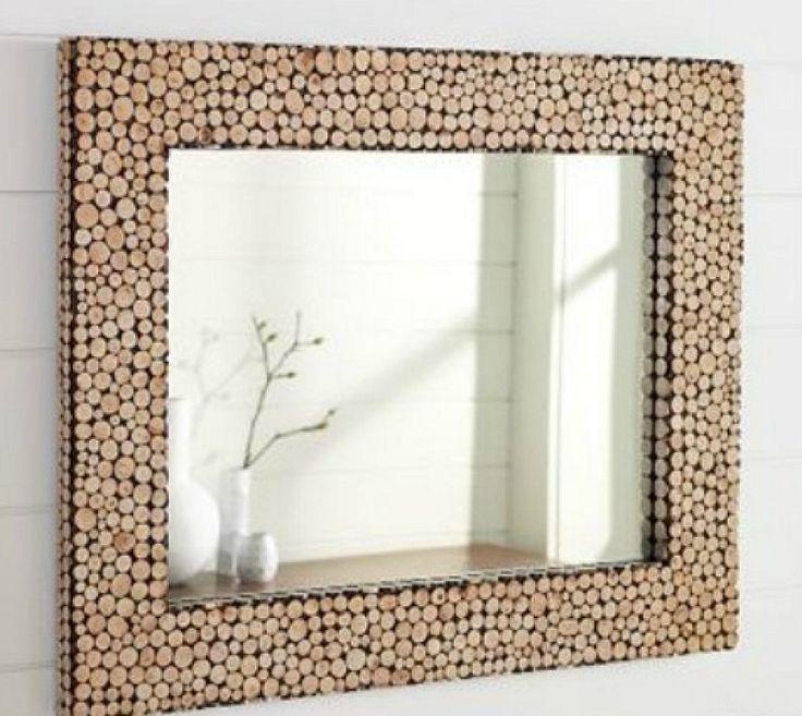 M s de 25 ideas incre bles sobre marco de corchos de vino - Hacer marco espejo ...