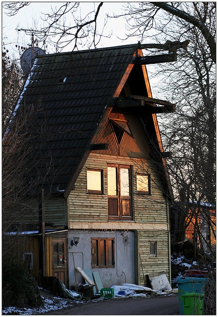 Wooden House in Christiania