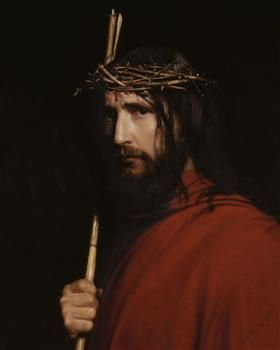 Christ with Thorns - Carl Bloch
