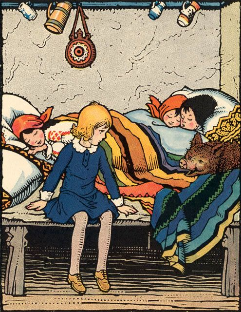 """""""The Magic Doll of Roumania"""", illustrated by Maud and Miska Petersham"""