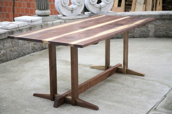 Canadian walnut dining table