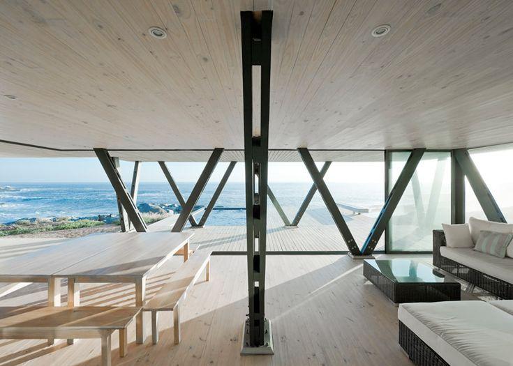 Idyllic seaside residence in Chile.